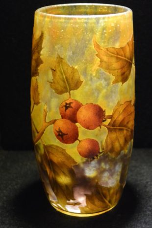 Daum Nancy - Etched Art Nouveau vase
