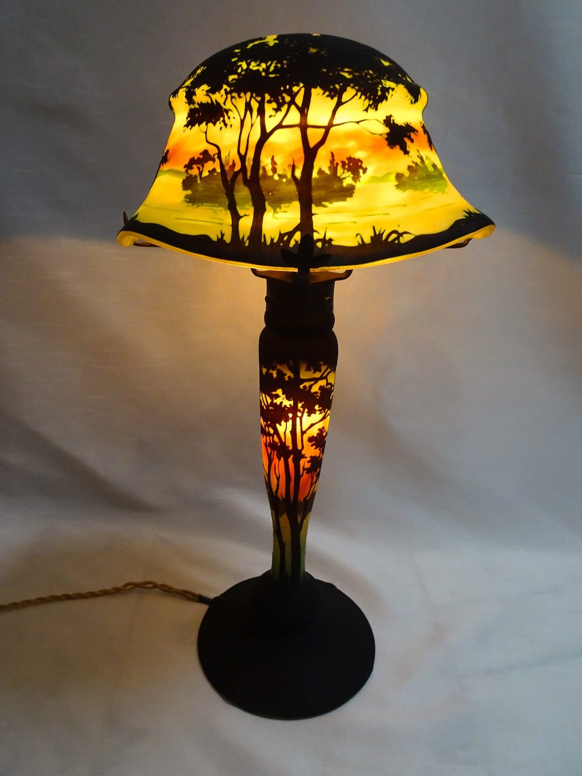 "Daum Nancy - Table lamp ""Vosges"""